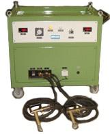 Máquina detectora de trincas semi-portáteis
