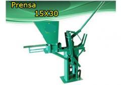 Prensa modular 15 x 30