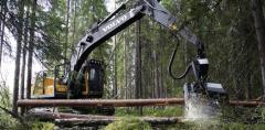 Colhedoras florestais Volvo EC210BF