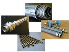 Tubo Flexível em aço Inox