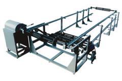 Conjunto Enrolador Semi-automático para Fitas de Lâminas