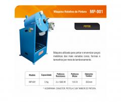Maquina rotativa de pintura MP-001