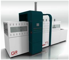 Máquinas para fabricação de embalagens PET Term T1