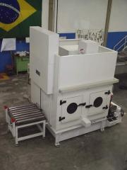 Lavadora de peças industriais tipo cabine - serie