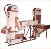 Limpeza e seleçao de produtos granulados