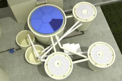 Sistema de tratamento de efluentes