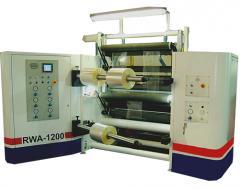 Rebobinadeira RWS - Eixos Áereos