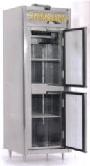 Geladeira Comercial 02 Portas Congelados Inox 110V