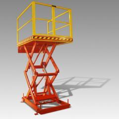 Mesa Elevadora Hidráulica para Carga e Descarga
