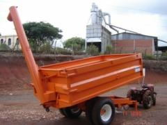 Carreta basculante agricola 8000 kg