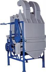 Máquina para pré-limpeza de grãos