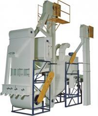 Máquina para polimento e classificação de feijão e