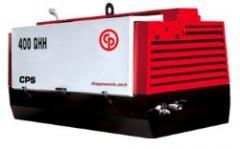 Compressor de ar marca Chicago Pneumatic modelo