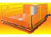 Mesa Elevadora com Báscula Elétrica p/ Descarga de