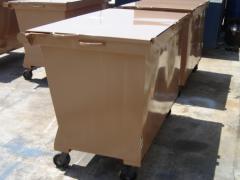 Containers para coleta de lixo