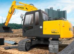 Escavadeiras de Esteiras R140