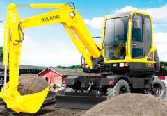 Escavadeiras de Pneus R55W
