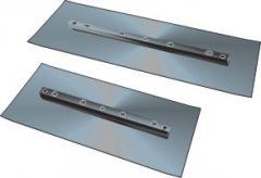 Laminas para acabadoras de superfície