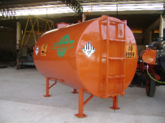 Tanque para armazenamento de asfalto TA