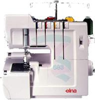 Maquina de costura Elna 683