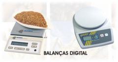 Balanças eletrônicas para análise de amostragem