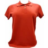 Camisa polo feminina lisa