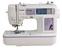 NV 950D máquina computadorizada de costura