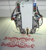 Máquinas de Bordar 1208 Chenille / bailarina