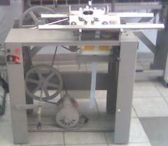 Galoneira motorizada para tecer tiras