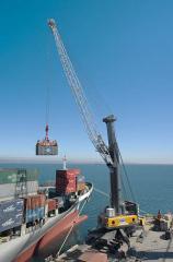 Guindaste movel portuario