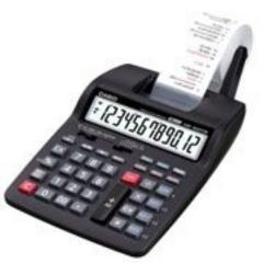 Calculadora casio Hr 100TM