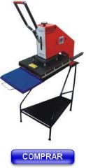 Prensa térmica manual de um berço móvel