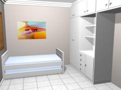 Moveis para quarto de hospedes