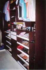 Closet em MDF Wengue