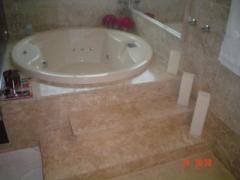 Banheiros em marmore