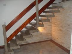 Escada - Escadara Reta.
