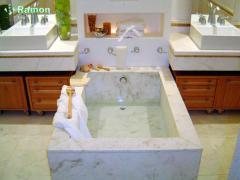 Suite do Casal em mármore branco