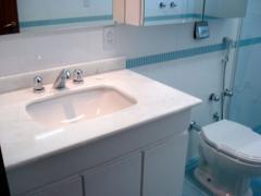 Banheiro em Cintilante