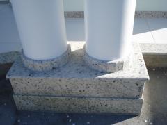 Colunas em granito