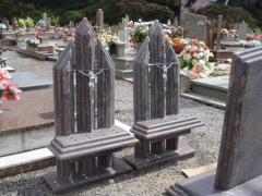 Tumulos em marmore