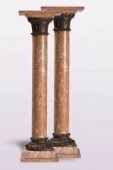 Colunas em marmore