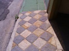 Calçada em granito