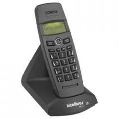 TELEFONE SEM FIO TS10 ID PRETO INTELBRAS