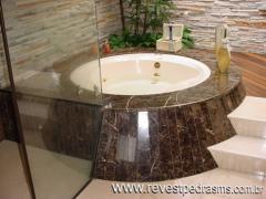 Banheiras em marmore