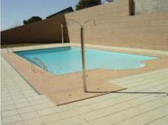 Revestimento de piscina em granito