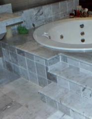 Banheira em marmore