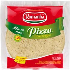 Massa para Pizza com Orégano