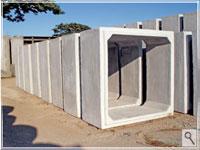 Aduela celular de concreto