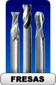 Fresas HSS, HSSCO e Metal Duro