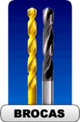 Brocas HSS, HSSCO e Metal Duro